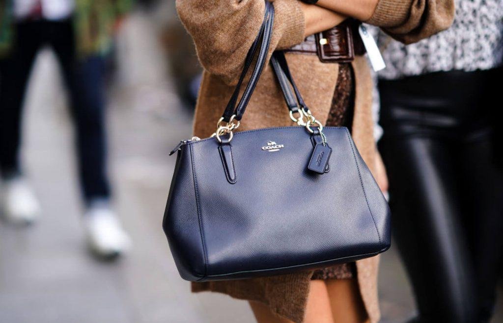 coach monogram bag